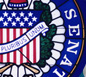 Senate seal graphic, link to the home page